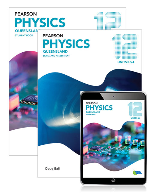 Image for Pearson Physics Queensland 12 Student Book, eBook and Skills & Assessment Book Combo Pack