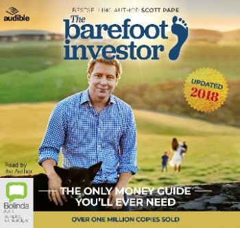 Image for The Barefoot Investor 2018/2019 Edition Audio CDs The Only Money Guide You'll Ever Need