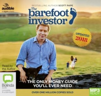 Image for The Barefoot Investor 2018/2019 Edition MP3 Audio CD The Only Money Guide You'll Ever Need