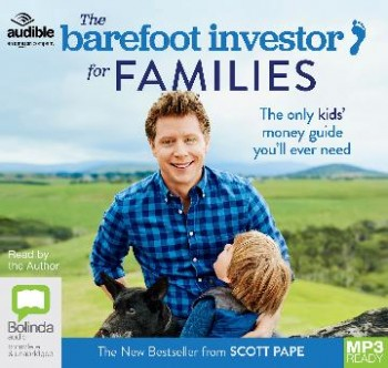 Image for The Barefoot Investor For Families MP3 Audio CD The Only Kids' Money Guide You'll Ever Need