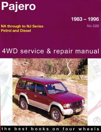 Image for Mitsubishi Pajero 1983-1996 NA-NJ Series Petrol and Diesel 4WD Service and Repair Manual 05528