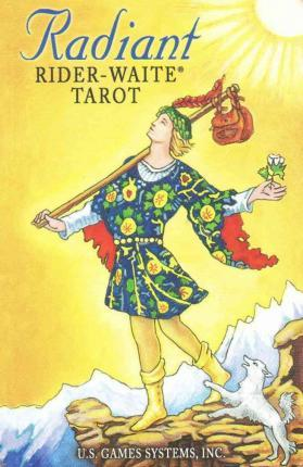 Image for Radiant Rider-Waite Tarot in a Tin : 78 Cards and Instruction Booklet *** TEMPORARILY OUT OF STOCK ***