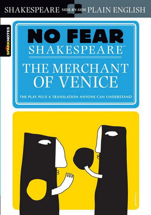 Image for The Merchant of Venice (No Fear Shakespeare) The Play plus a translation anyone can understand
