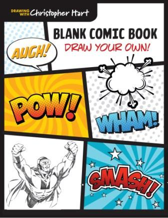 Image for Blank Comic Book : Draw Your Own!