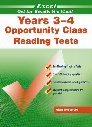 Image for Excel Test Skills : Opportunity Class Reading Tests Years 3-4