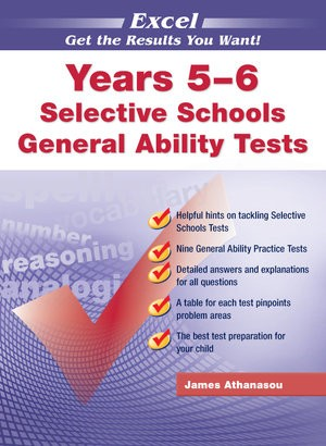 Image for Excel Test Skills : Selective Schools and Scholarship General Ability Tests Years 5-6