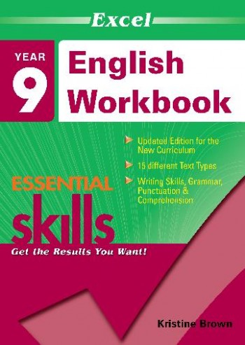 Image for Excel Essential Skills : English Workbook Year 9