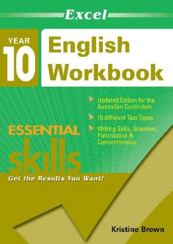 Image for Excel Essential Skills : English Workbook Year 10