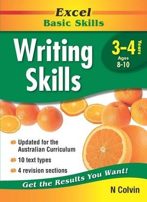 Image for Excel Basic Skills : Writing Skills Years 3-4 (Ages 8-10)