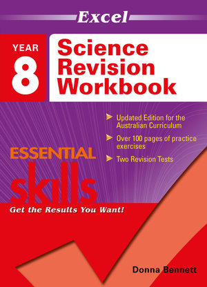 Image for Excel Essential Skills : Science Revision Workbook Year 8