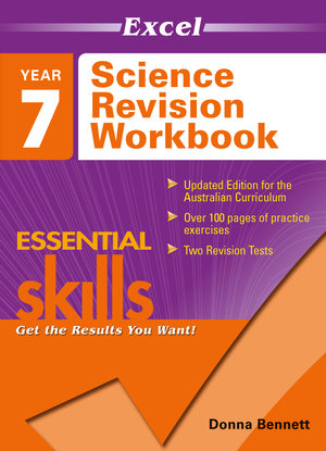 Image for Excel Essential Skills : Science Revision Workbook Year 7