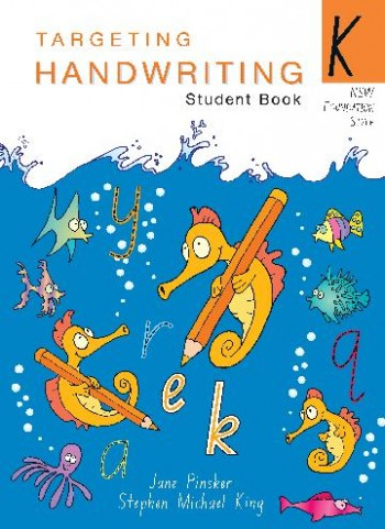 Image for Targeting Handwriting K Student Book - NSW Foundation Style
