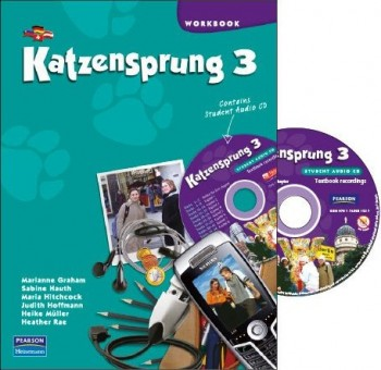 Image for Katzensprung 3 Workbook and Audio CD