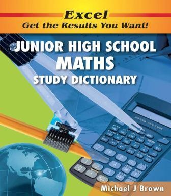 Image for Excel Junior High School Maths Study Dictionary Years 7-10