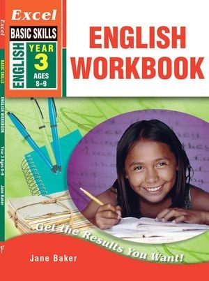 Image for Excel Basic Skills : English Workbook Year 3 (Ages 8-9)