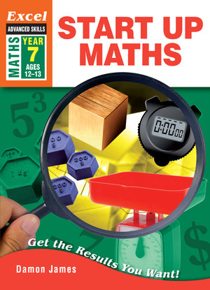 Image for Excel Advanced Skills : Maths : Start Up Maths Year 7 (Ages 12-13)