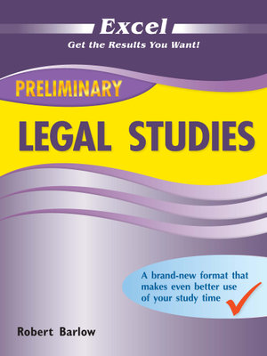 Image for Excel Preliminary Legal Studies