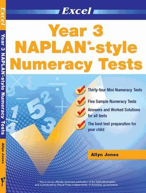 Image for Excel NAPLAN-style Numeracy Tests Year 3