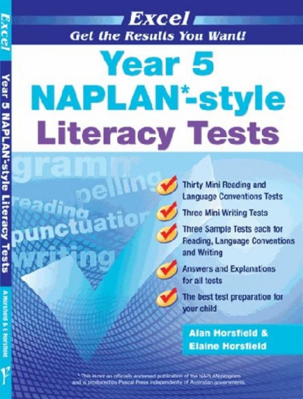 Image for Excel Year 5 NAPLAN-style Literacy Tests
