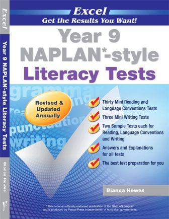 Image for Excel Year 9 NAPLAN-style Literacy Tests