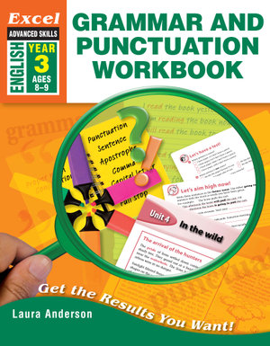 Image for Excel Advanced Skills : English : Grammar and Punctuation Workbook Year 3 (Ages 8-9)