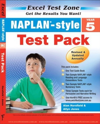 Image for Excel Test Zone : NAPLAN Style Year 5 Test Pack