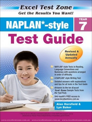 Image for Excel Test Zone : NAPLAN Style Year 7 Test Pack