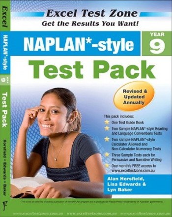 Image for Excel Test Zone : NAPLAN Style Year 9 Test Pack