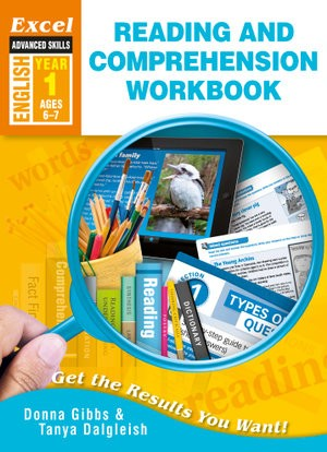 Image for Excel Advanced Skills : English : Reading and Comprehension Workbook Year 1 (Ages 6-7)