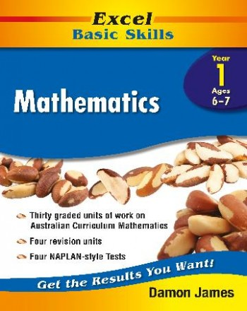 Image for Excel Basic Skills : Mathematics Year 1 (Ages 6-7)