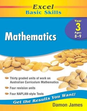 Image for Excel Basic Skills : Mathematics Year 3 (Ages 8-9)