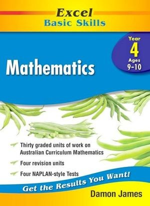 Image for Excel Basic Skills : Mathematics Year 4 (Ages 9-10)