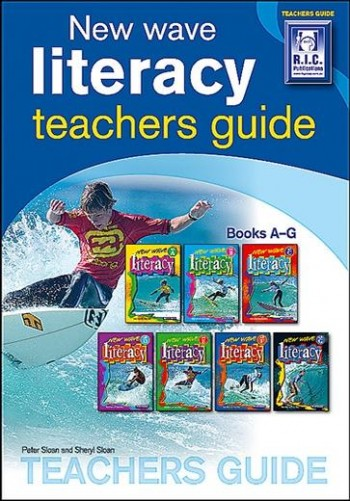 Image for New Wave Literacy Skills Teachers Guide (Ages 5–12) RIC-0786