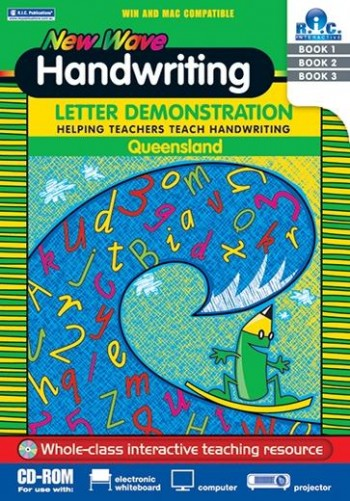 Image for New Wave Handwriting for Queensland : Letter Demonstration CD-ROM Helping Teachers Teach Handwriting - Whole-class interactive teaching resource RIC-10019