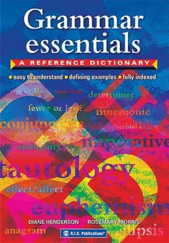 Image for Grammar Essentials : A Reference Dictionary RIC-1184