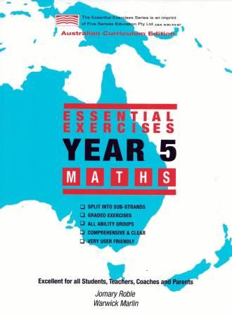 Image for Essential Exercises Year 5 Maths : Australian Curriculum Edition