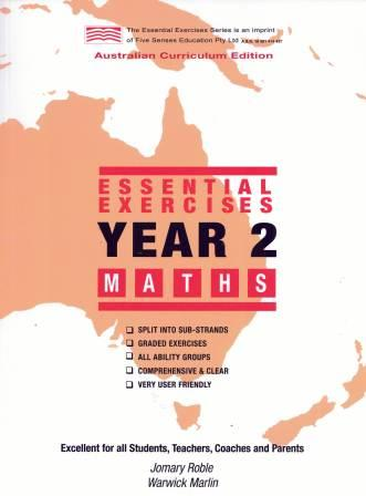 Image for Essential Exercises Year 2 Maths : Australian Curriculum Edition