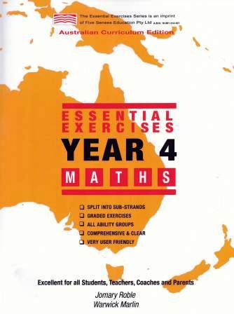 Image for Essential Exercises Year 4 Maths : Australian Curriculum Edition