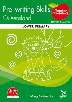 Image for Teacher Timesavers : Pre-writing Skills Queensland - Black Line Masters [Lower Primary]