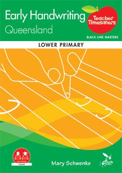 Image for Teacher Timesavers : Early Handwriting Queensland - Black Line Masters [Lower Primary]