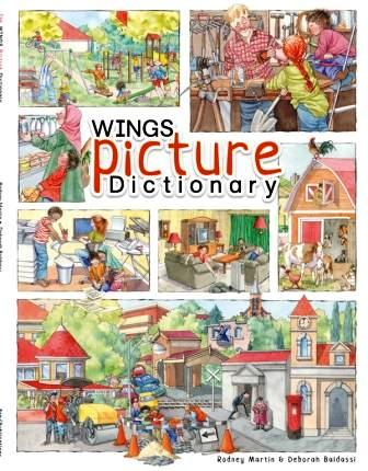 Image for Wings Picture Dictionary