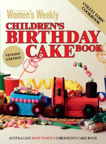 Image for Children's Birthday Cake Book - Vintage Edition