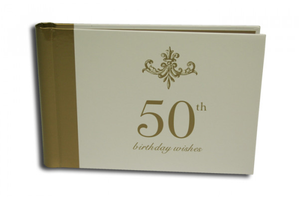 Image for Guest Book : 50th Birthday Wishes