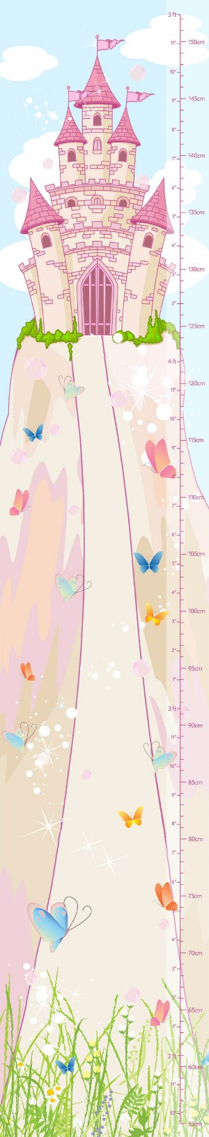 Image for Height Chart : Castles : Keep track of your kid's height