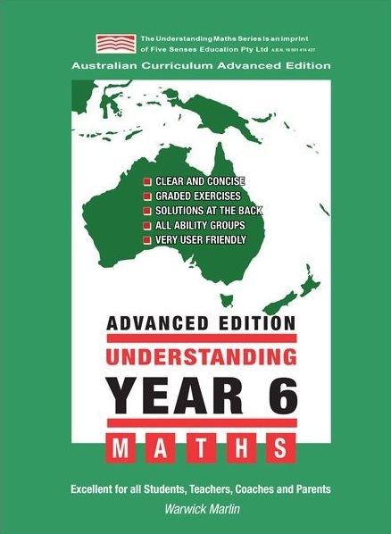 Image for Understanding Year 6 Advanced Maths : Australian Curriculum Edition