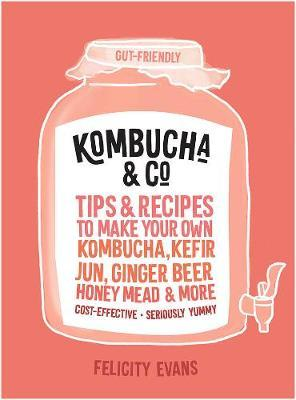 Image for Kombucha & Co : Tips and Recipes to Make Your Own Kombucha, Kefir, Jun, Ginger Beer, Honey Mead and More