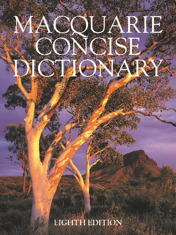 Image for Macquarie Concise Dictionary [Eighth Edition]