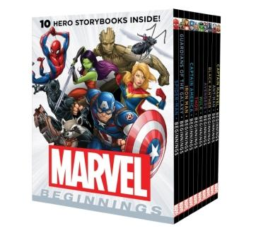 Image for Marvel Beginnings: 10 Storybook Boxed Set