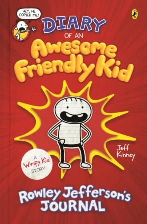 Image for Diary of an Awesome Friendly Kid : Rowley Jefferson's Journal