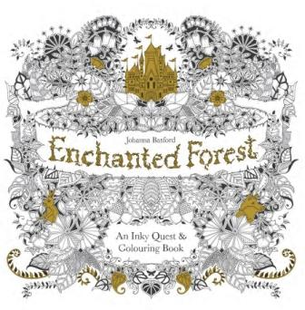 Image for Enchanted Forest : An Inky Quest and Colouring Book